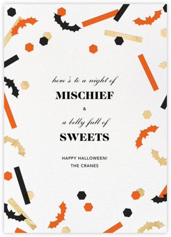 Frightful 'Fetti - Paperless Post - Halloween cards