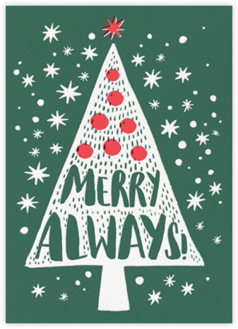 Merry Always - Hello!Lucky - Hello!Lucky - Cards, Invitations, Stationery
