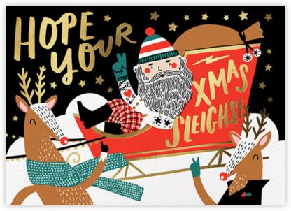 Santa's Pit Crew - Fair - Hello!Lucky -