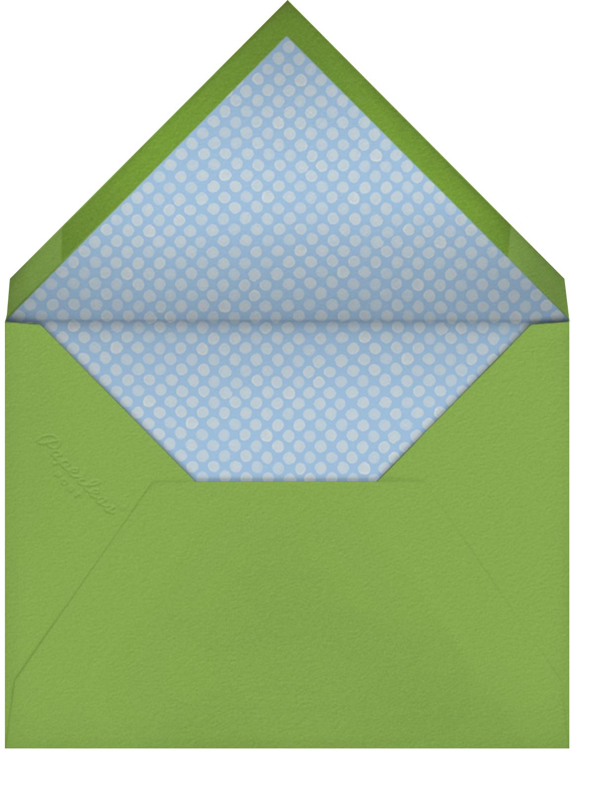 Snowdrop - Paperless Post - Bridal shower - envelope back