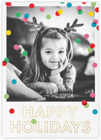 Holiday Baronial (Photo)  - kate spade new york - Holiday photo cards