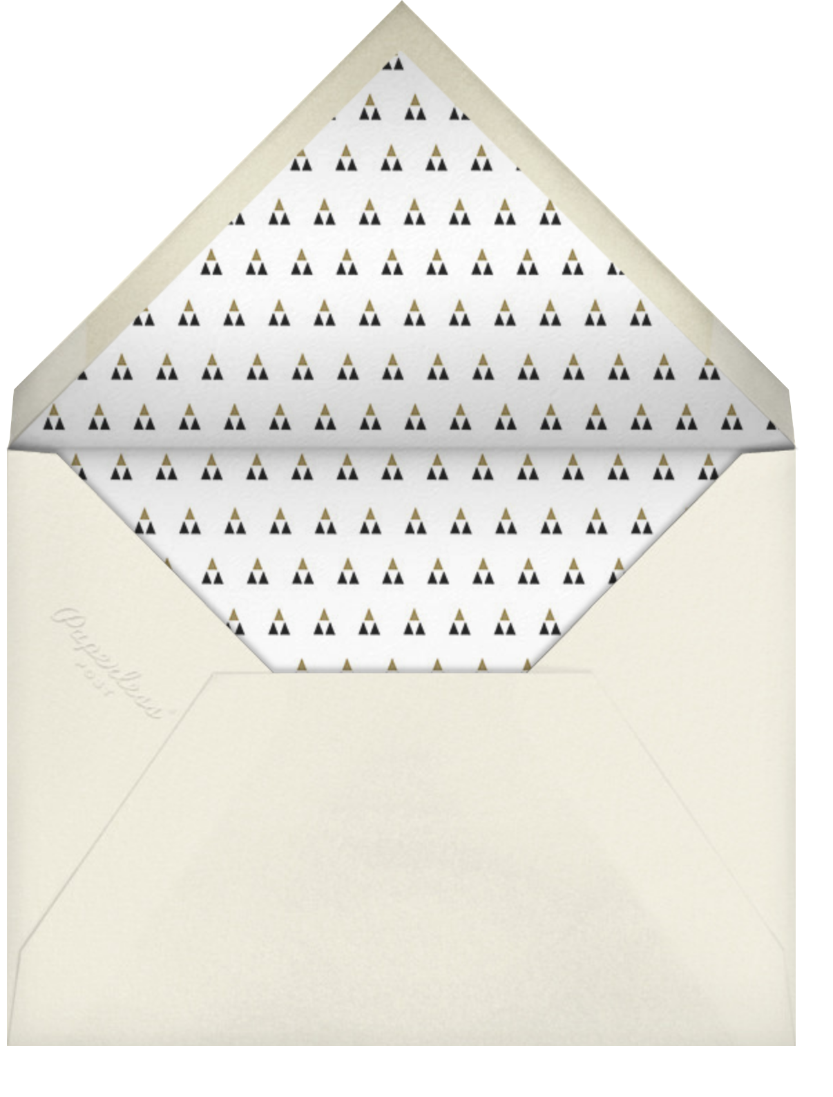 Fort Knox (Square) - Paperless Post - Holiday save the dates - envelope back