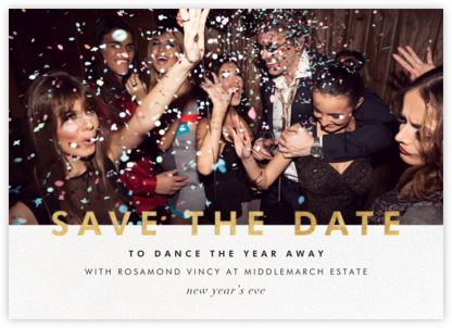 Talbot - Gold - Paperless Post - Holiday Save the Dates