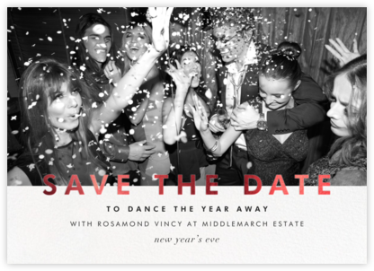 Talbot - Red - Paperless Post - Holiday save the dates
