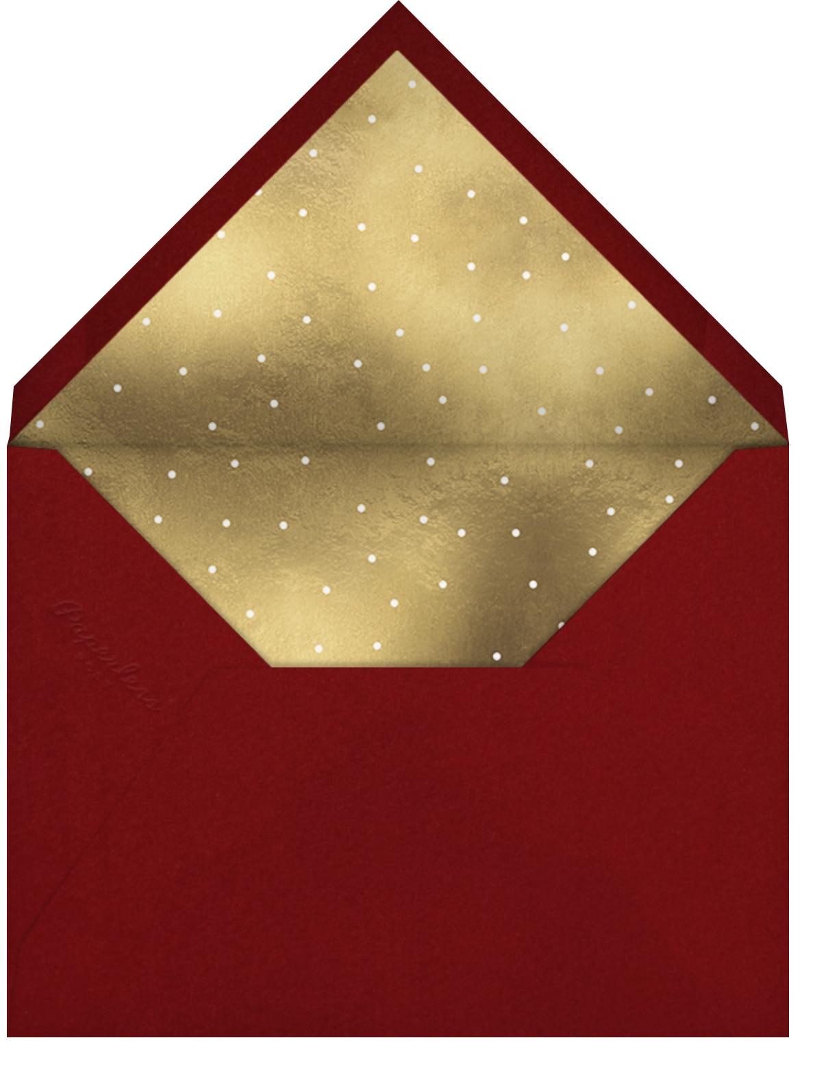 Snapshot - Gifts - Paperless Post - Christmas party - envelope back