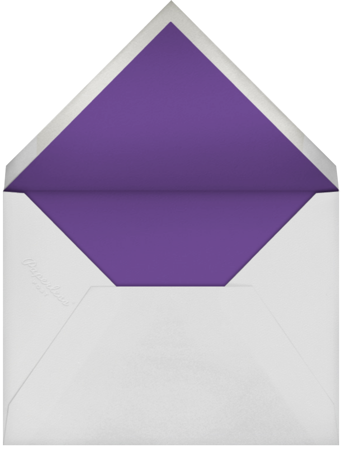 Full-Page Photo (Single-Sided) - Tall - Paperless Post - Birthday - envelope back