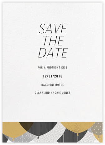 Curtain Raiser - Paperless Post - Save the dates
