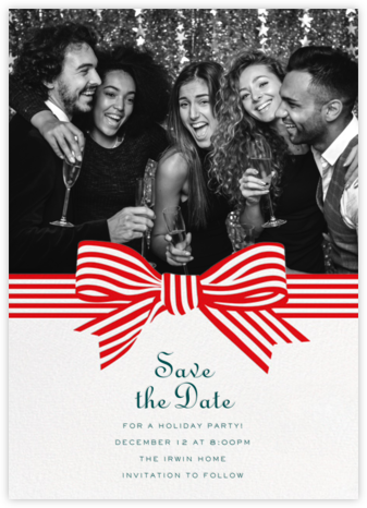 Perfect Package - Red - Cheree Berry - Holiday Save the Dates