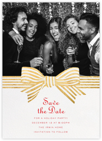 Perfect Package - Gold - Cheree Berry - Holiday save the dates