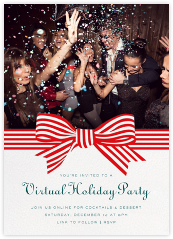 Perfect Package - Red - Cheree Berry - Christmas Party Invitations