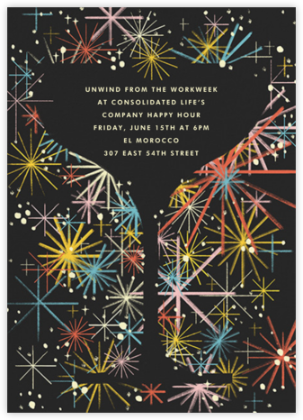 It's Full of Stars! - Paperless Post - Happy hour invitations