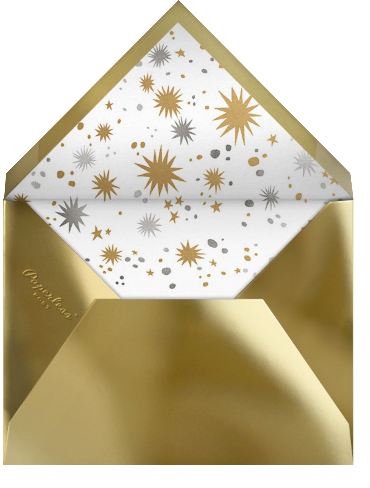 Sleigh Queen - Paperless Post - Holiday cards - envelope back