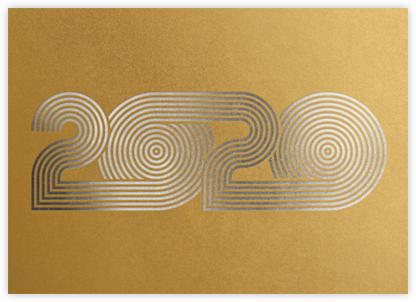 Psychedelic Twenty - Gold | horizontal