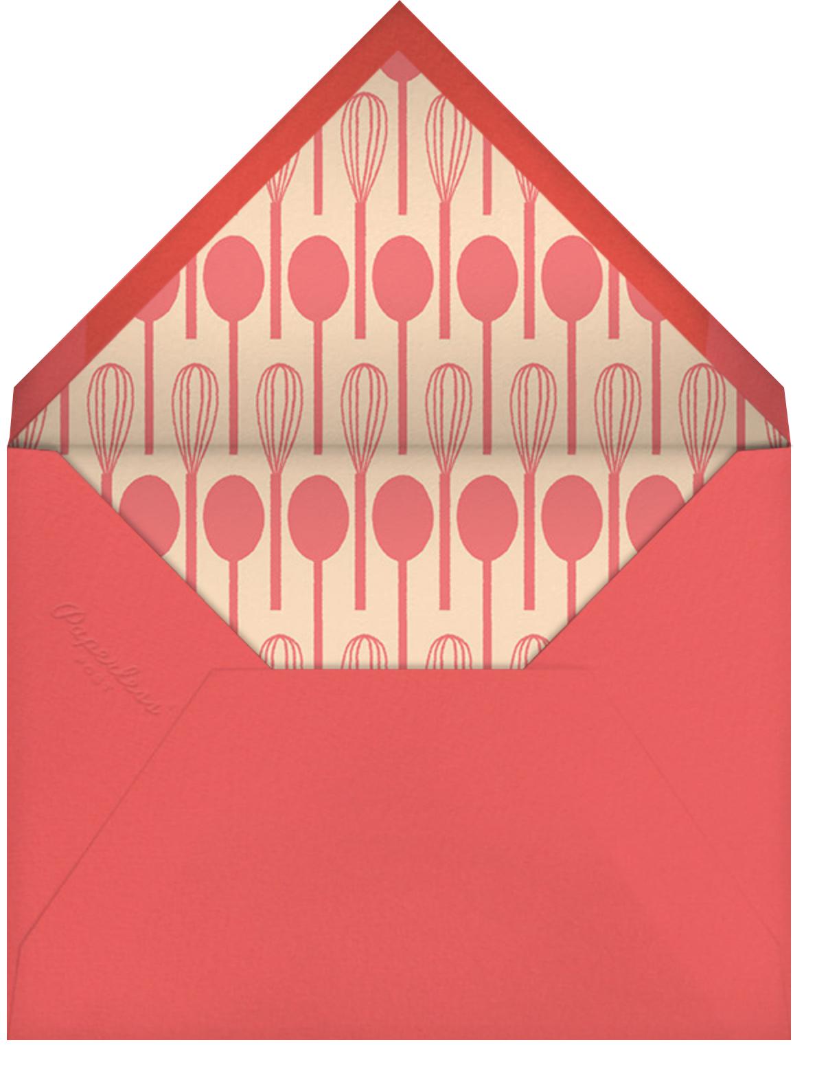 Apron Strings - Paperless Post - Envelope