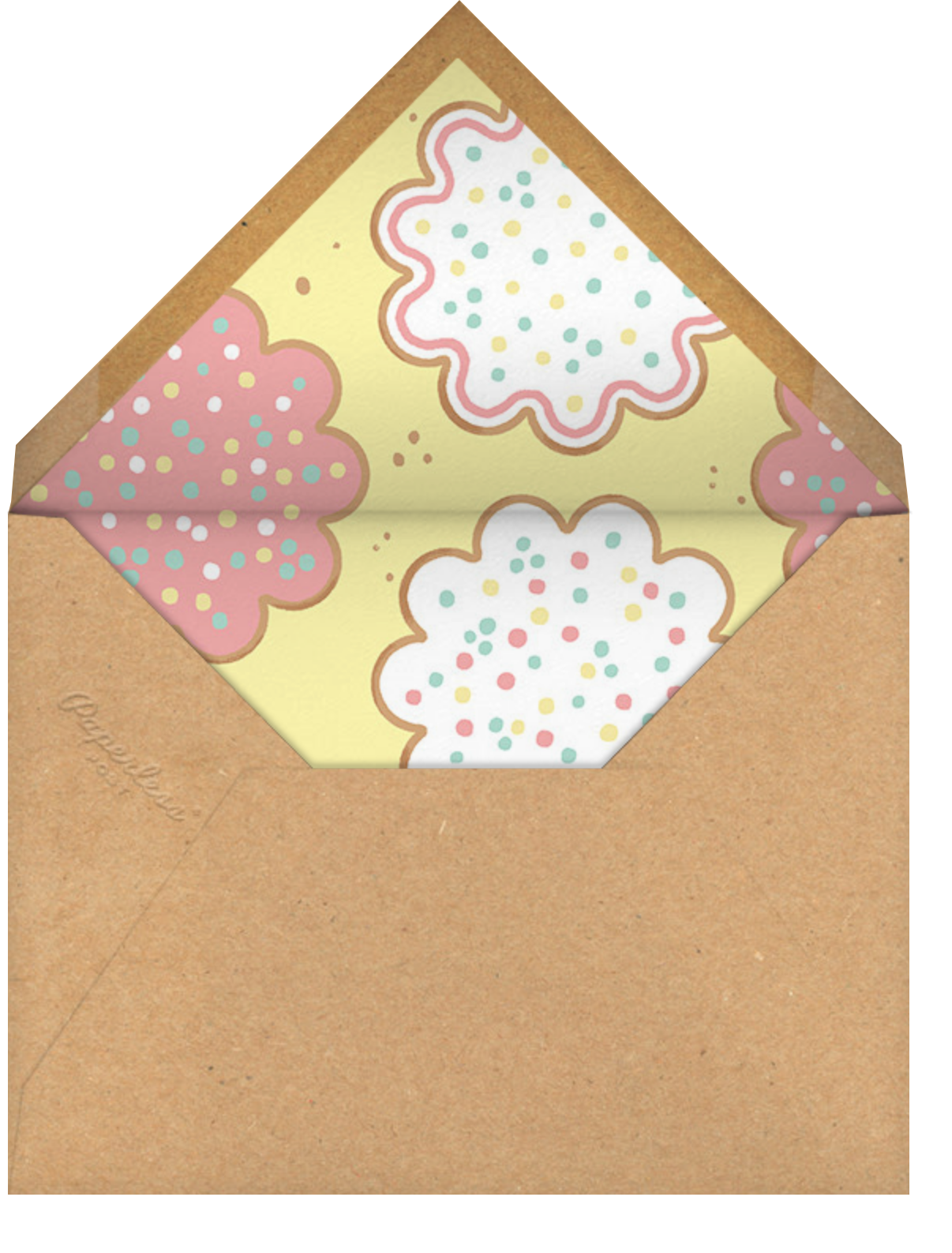 Decorator's Showcase - Paperless Post - Holiday party - envelope back