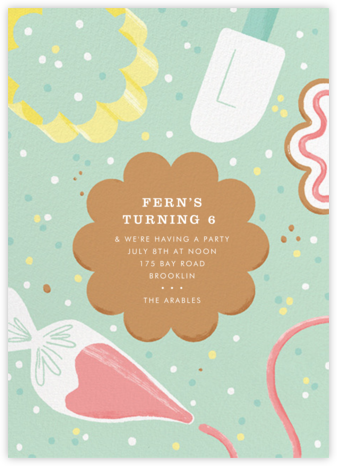 Decorator's Showcase - Paperless Post - Kids' birthday invitations