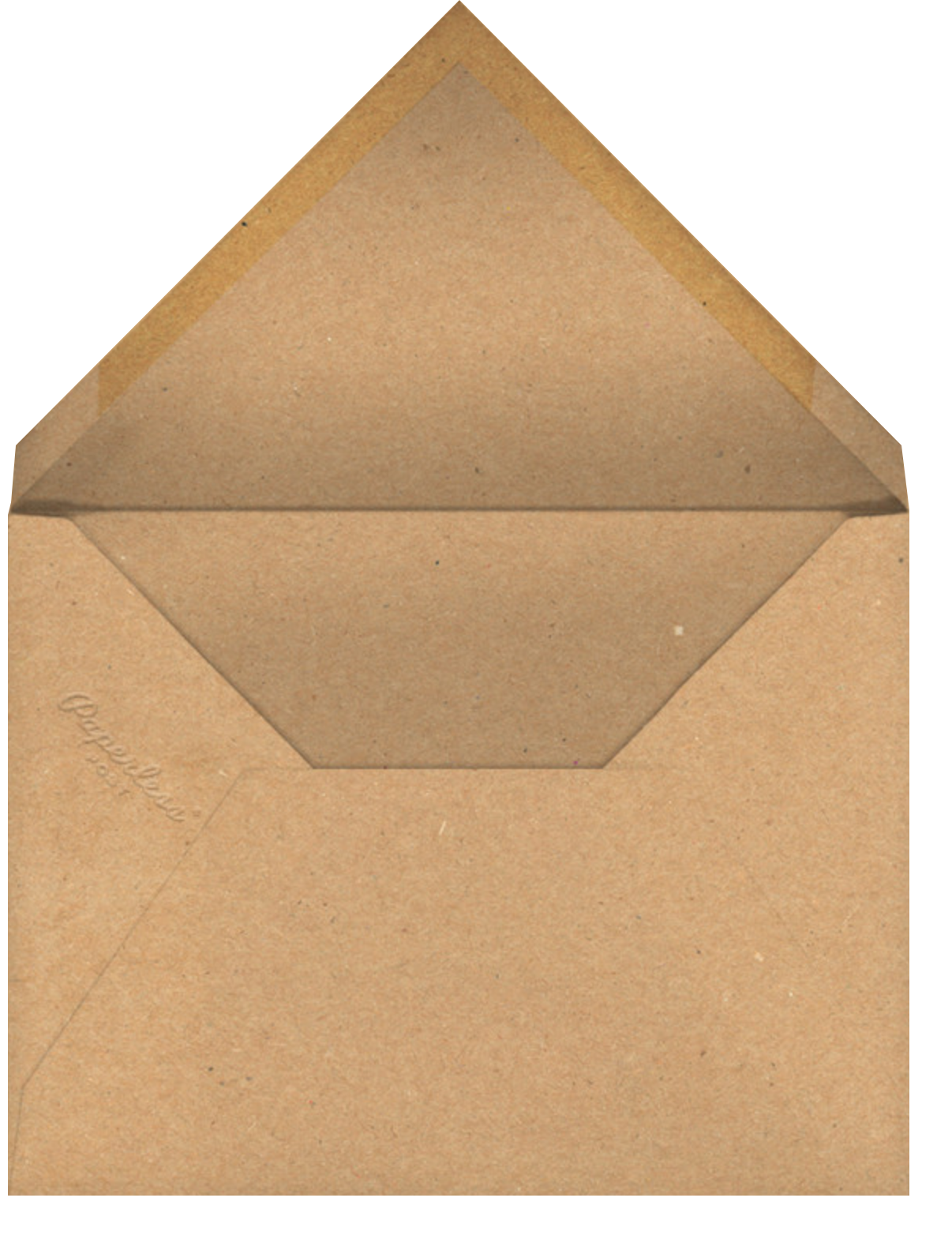 Pineapple Fling - Paperless Post - Casual entertaining - envelope back