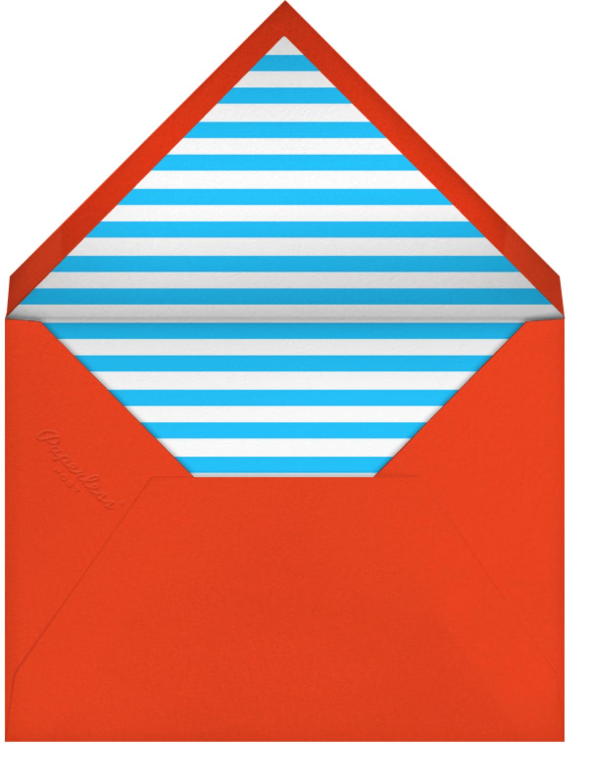 Superhero (Tall) - The Indigo Bunting - Envelope