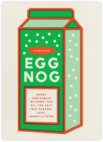 Eggnog - Greeting - The Indigo Bunting -