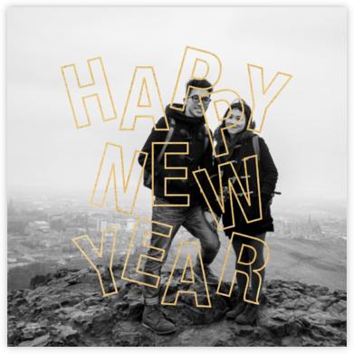 Jubilant Jumble - New Years - Paperless Post -