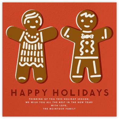 Gingerbread - Happy Holidays (Blood Orange) - The Indigo Bunting - Indigo Bunting