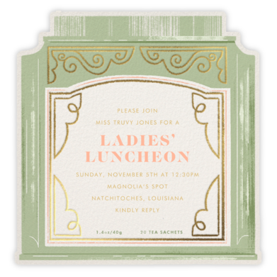Sweet Tea - Paperless Post - Brunch invitations