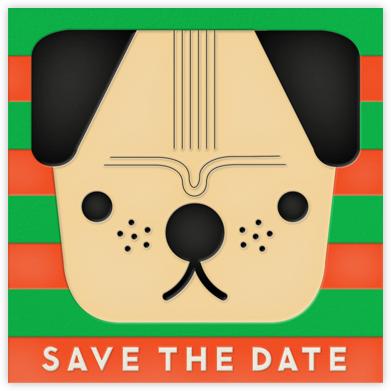 Pug (Save the Date) - The Indigo Bunting - Indigo Bunting