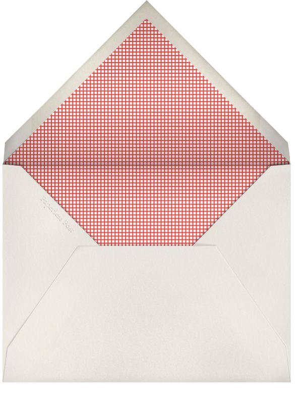 Pug (Invitation) - The Indigo Bunting - null - envelope back