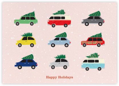 Cars with Trees - Paper Source - Paper Source