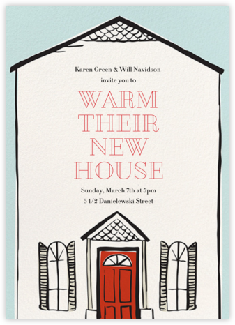 Housewarming Party - Paper Source - Housewarming party invitations