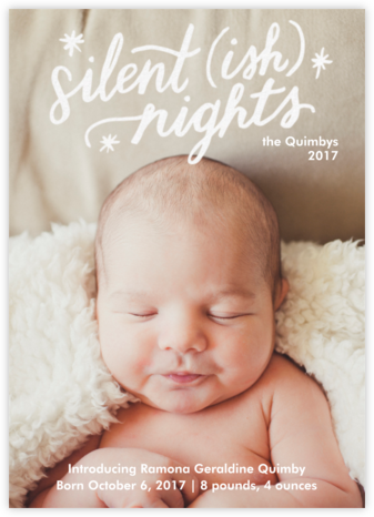 Silentish Nights - Paper Source -