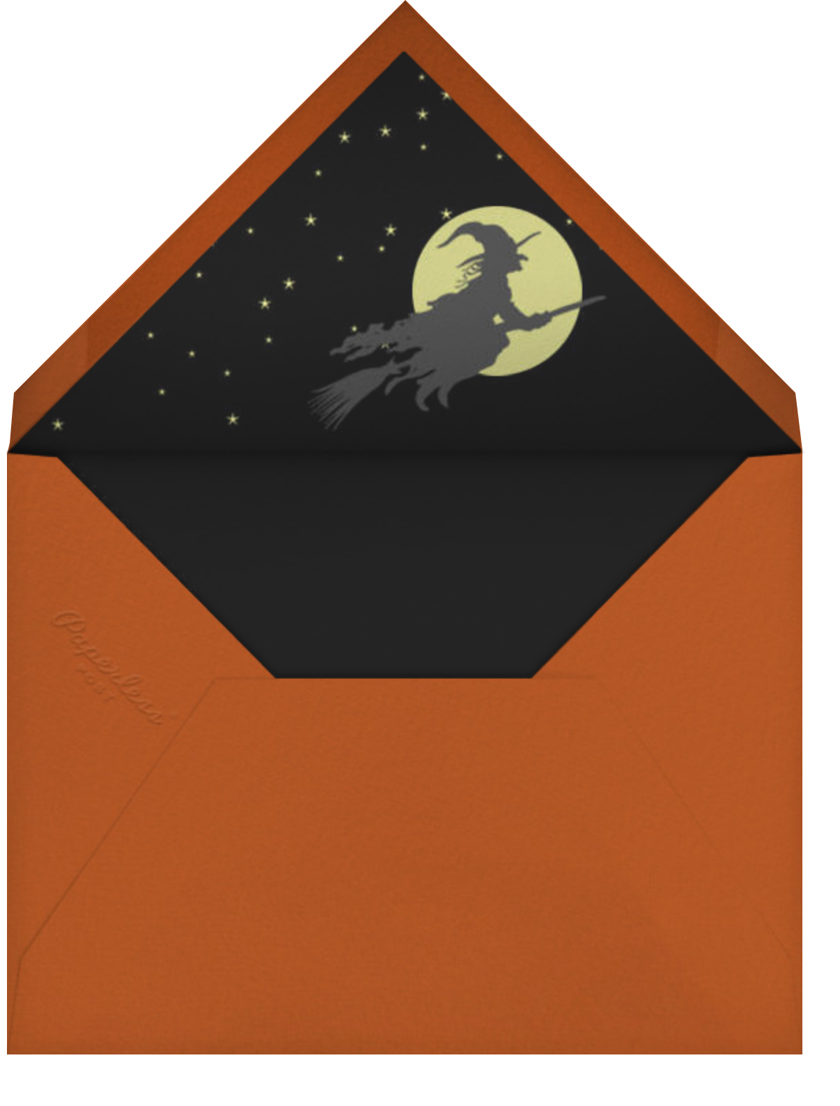Witch, Please - Paperless Post - Halloween - envelope back