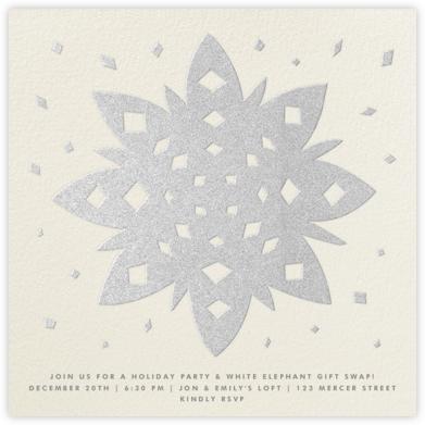 Snowflake - Silver - The Indigo Bunting