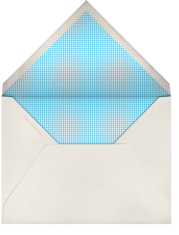 Snowflake Multiple - Invitation - The Indigo Bunting - null - envelope back