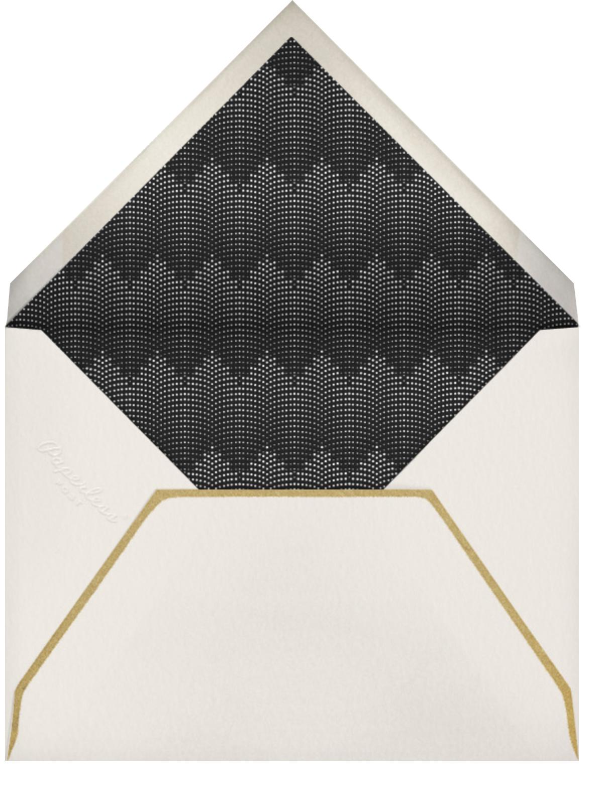 Rosina Photo - Gold - Paperless Post - Photo  - envelope back