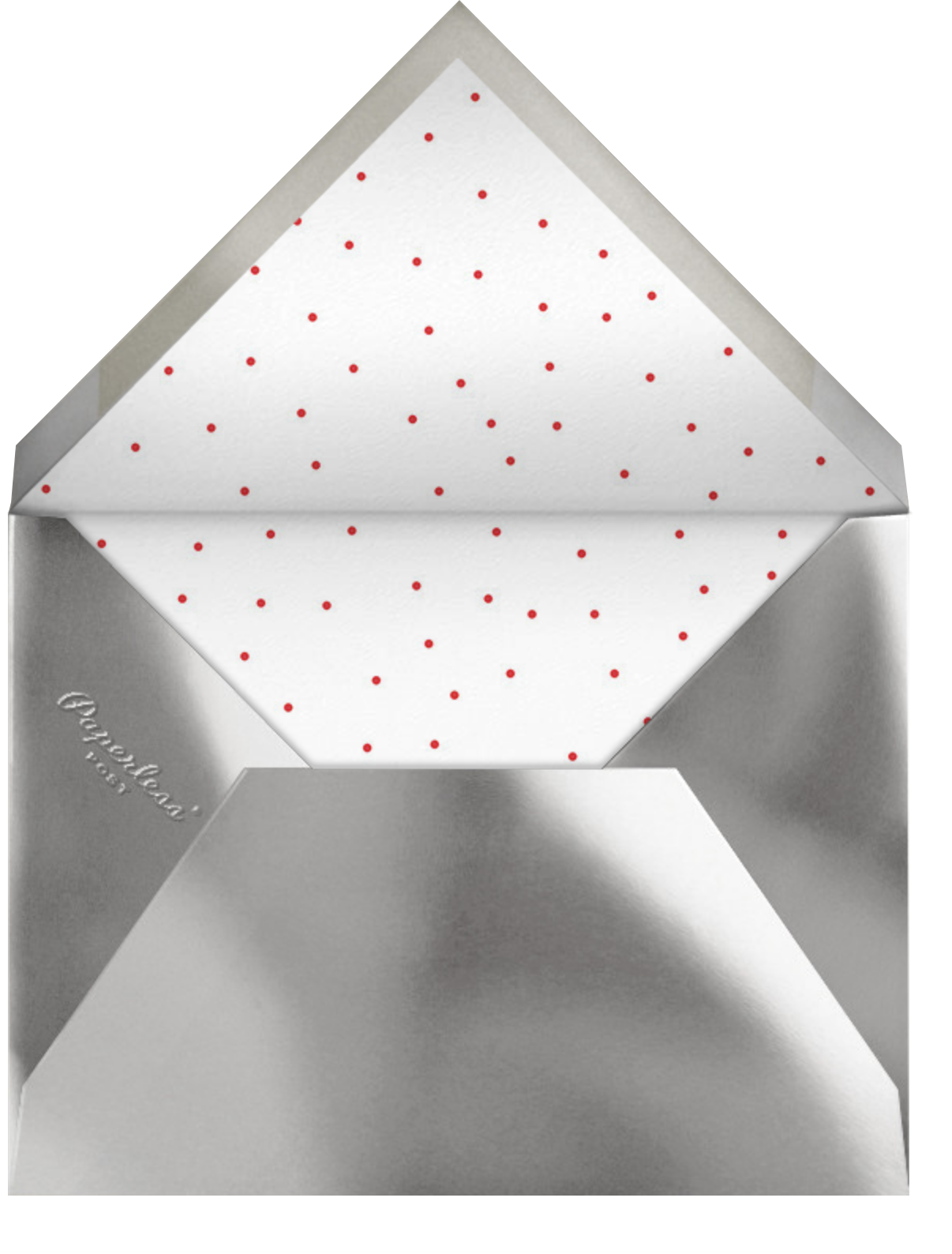 Rosina Photo - Red - Paperless Post - Designs we love - envelope back