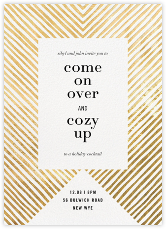 Axis - Kelly Wearstler - Winter Party Invitations