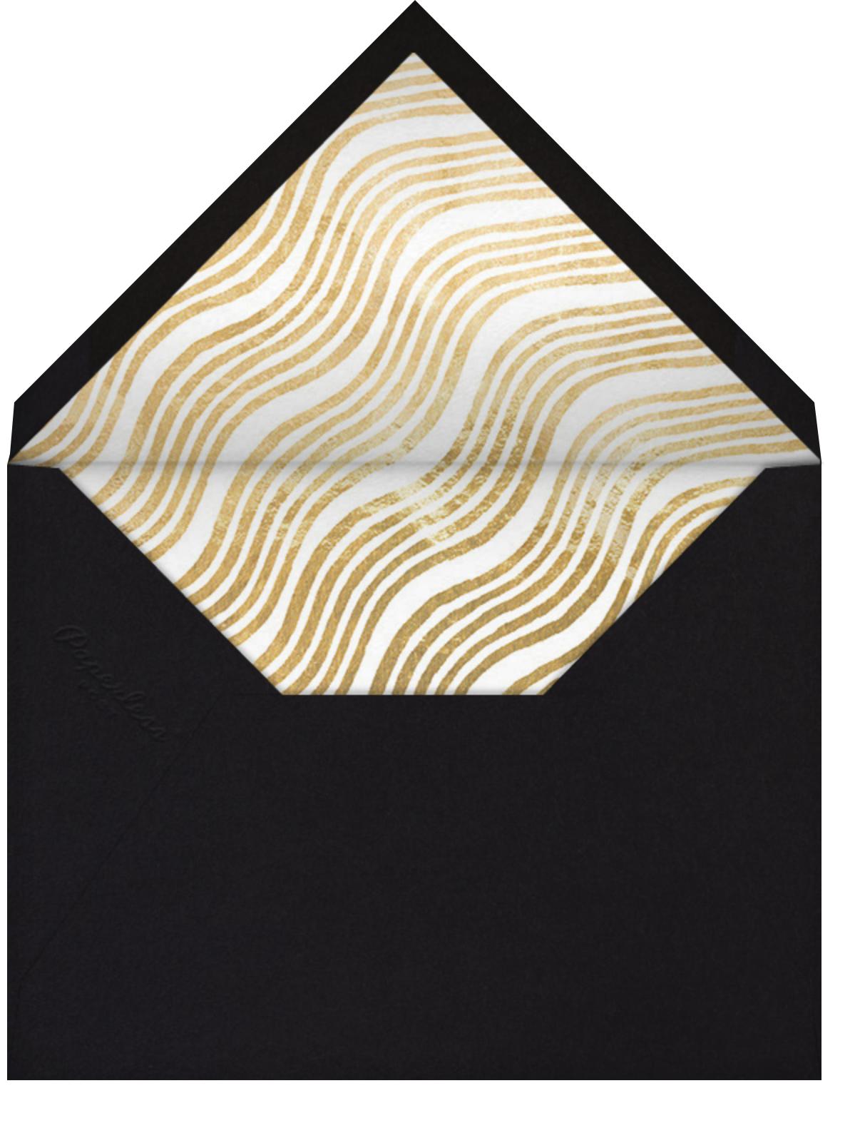 Eclisse - Black - Kelly Wearstler - Cocktail party - envelope back