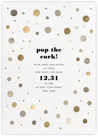 Eclisse - White - Kelly Wearstler - New Year's Eve Invitations