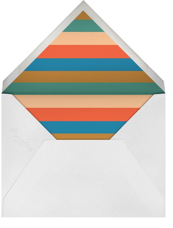 Auld Lang Syne - The Indigo Bunting - New Year's Eve - envelope back