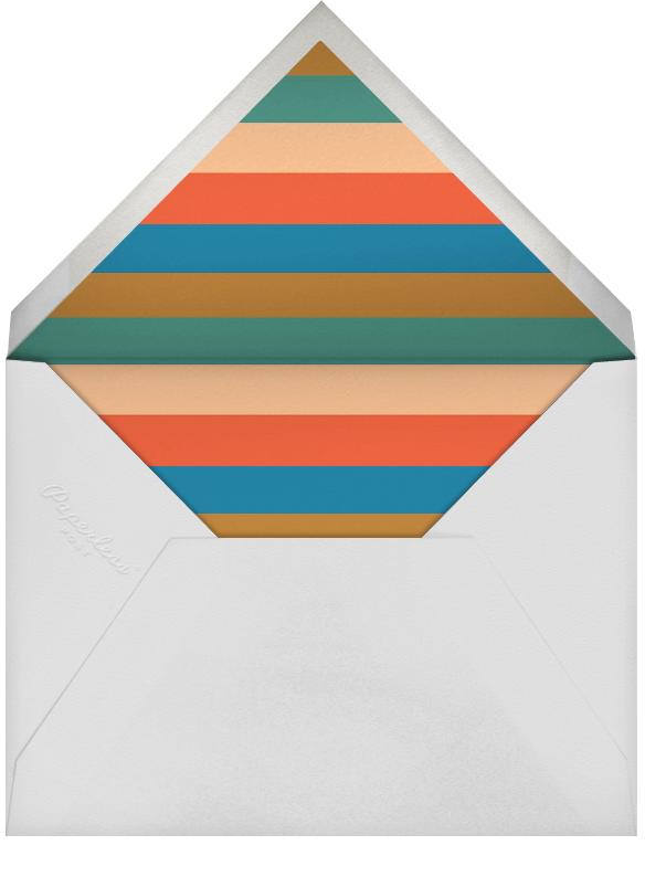 Auld Lang Syne - The Indigo Bunting - New Year - envelope back