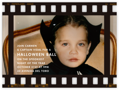 Film Still - Horizontal - Paperless Post - Halloween invitations