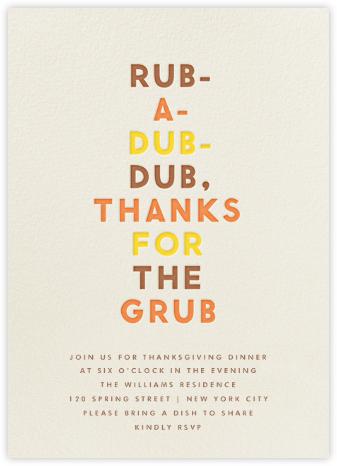 Funny Graces (Rub A Dub) - The Indigo Bunting -
