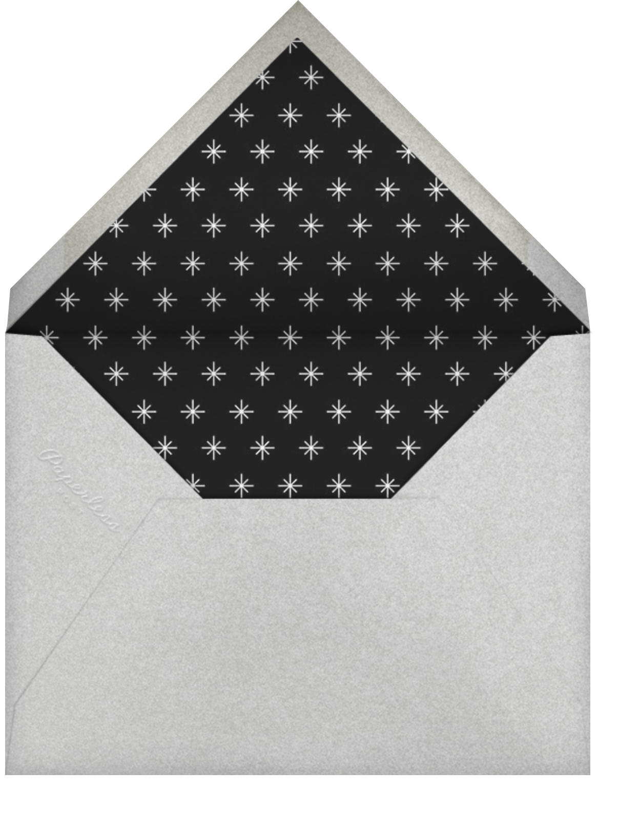 New Year Together - Paper Source - New Year - envelope back