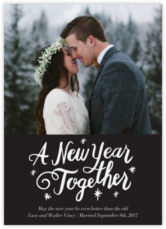 New Year Together - Paper Source - New Year Cards