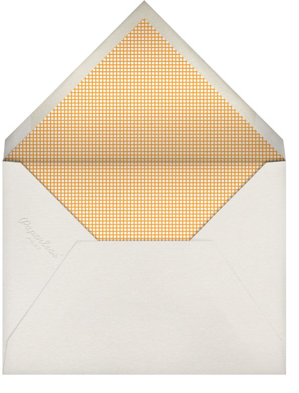 Pumpkin Pie - The Indigo Bunting - Thanksgiving - envelope back