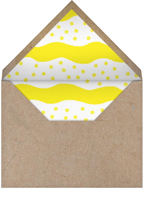 Egg Quote - The Indigo Bunting - Brunch - envelope back