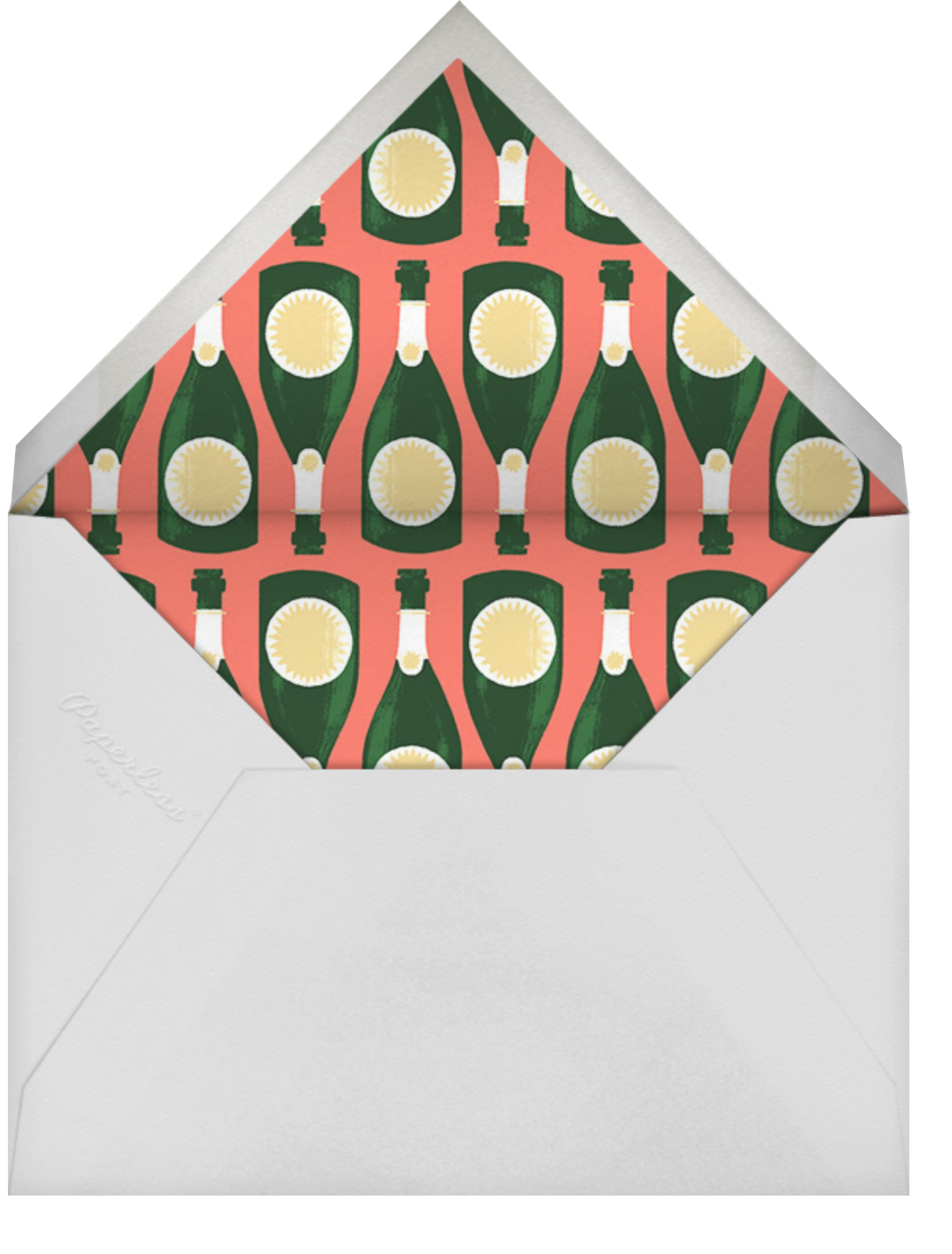 Genie in a Bottle - Paperless Post - Cocktail party - envelope back