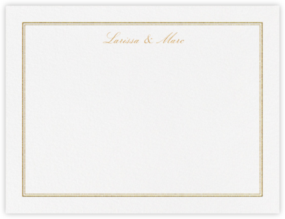 Matte (Stationery) - Gold | null
