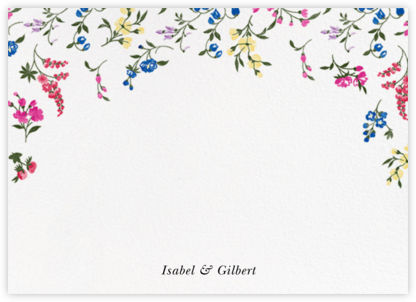 English Garden (Stationery) - Oscar de la Renta - Personalized Stationery